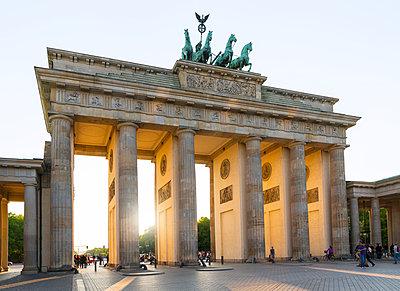 Brandenburg Gate, Berlin, Germany - p312m1063698f by Stefan Isaksson