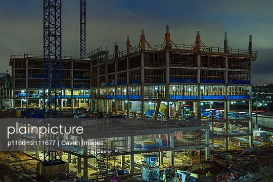 Construction Site, Atlanta, Georgia - p1166m2111677 by Cavan Images