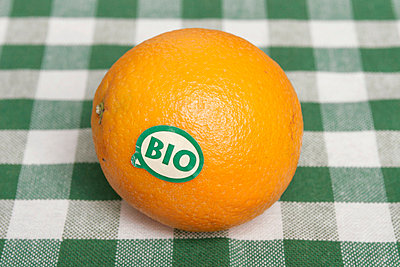 Organic orange - p1650416 by Andrea Schoenrock