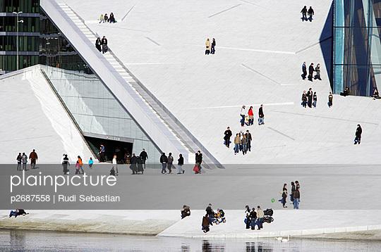 The Oslo Opera House - p2687558 by Rudi Sebastian