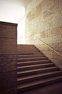 Steintreppe - p1092m900023 von Rolf Driesen