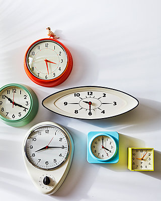 alarm clocks - p1379m1525384 by James Ransom