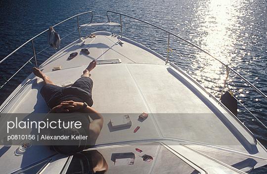 Auf Deck sonnen - p0810156 von Alexander Keller