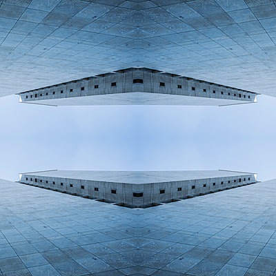 Abstract Architecture Kaleidoscope - p401m2260130 by Frank Baquet