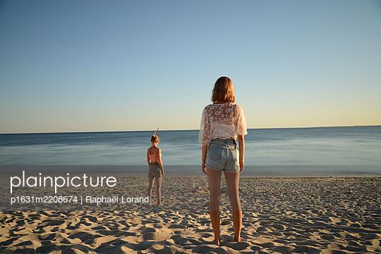 Brittany beach - p1631m2208674 by Raphaël Lorand