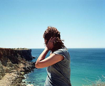 Portugal, Cape St. Vincent - p1083m990022 by Alain Greloud