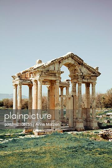 Antiker Tempel in der Türkei - p382m2108751 von Anna Matzen