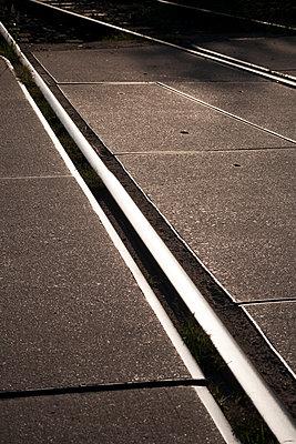 Straßenbahnschienen - p817m2016136 von Daniel K Schweitzer