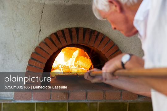 Homemade Pizza - p756m932185 by Bénédicte Lassalle