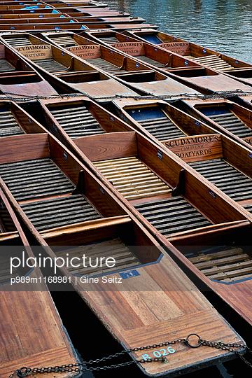 Boote - p989m1168981 von Gine Seitz
