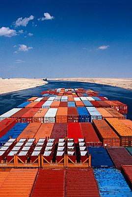Passage durch den Suezkanal - p1099m1516910 von Sabine Vielmo