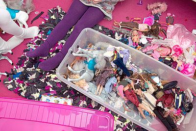 Girl's toys I - p427m886477 by R. Mohr