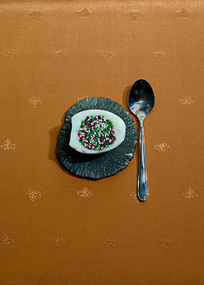 Silver spoon - p1279m1125003 by Ulrike Piringer