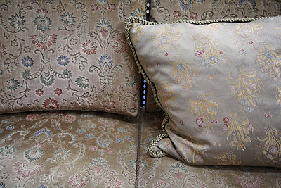 Pillows of an old couch - p4150570 by Tanja Luther