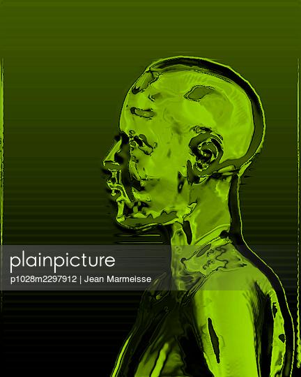 Cyber head - p1028m2297912 by Jean Marmeisse