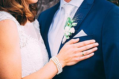Bride and groom - p299m1589462 by Silke Heyer