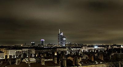 Lyon bei Nacht - p910m1467719 von Philippe Lesprit