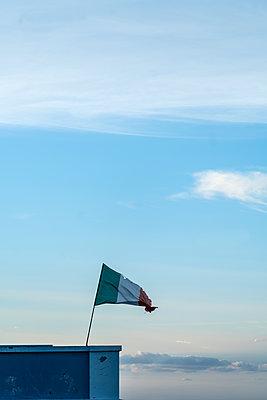 Italian Flag - p427m2142146 by Ralf Mohr