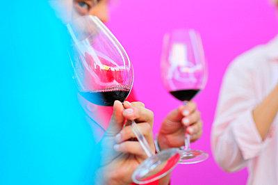 Wine tasting - p8850144 by Oliver Brenneisen