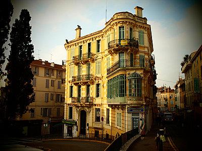 Old building in the morning sun - p1320539 by Peer Hanslik