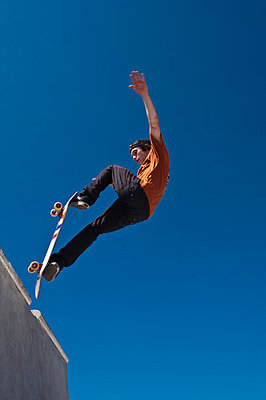 Skateboard fahren - p2200799 von Kai Jabs