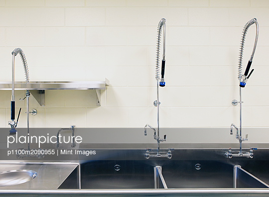 Large Industrial Sinks - p1100m2090955 by Mint Images