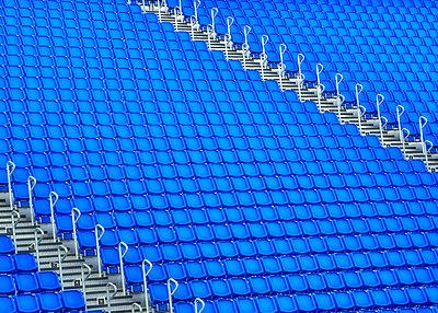 Blue Seats - p1154m1162652 by Tom Hogan