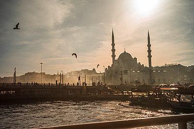 Türkei, Istanbul, Die Moschee Yeni Cami - p1085m2259787 von David Carreno Hansen