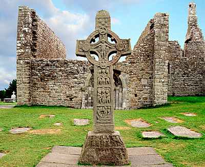 Clonmacnoise, Co. Offaly, Ireland - p4428798 by The Irish Image Collection