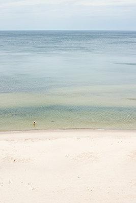 Badende in der Ostsee - p1574m2204738 von manuela deigert