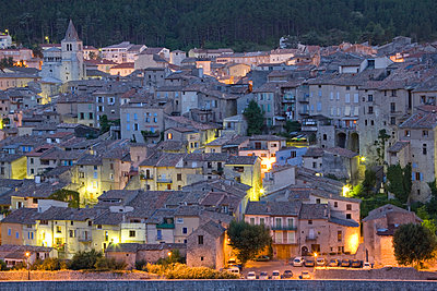 Town of Sisteron - p1403m1482729 by Education Images