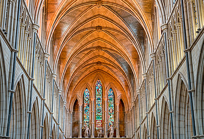 Europe,United Kingdom, England, London, Southwark Cathedral - p651m2007193 by Mark Sykes