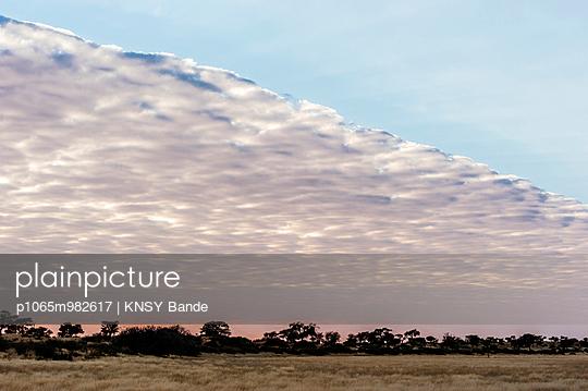Clouds over Kalahari - p1065m982617 by KNSY Bande