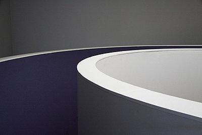 Treppenhaus in einem Kunstmuseum - p277m729245 von Dieter Reichelt