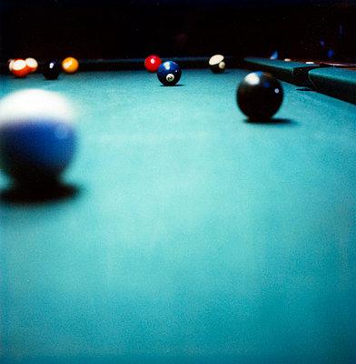 Pool billiard - p4090742 by Justin Winz