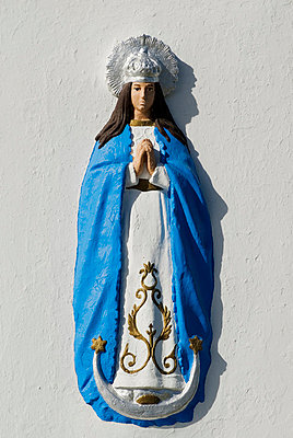 Icon of the Virgin Mary in Seville, Spain - p4423798f by Design Pics