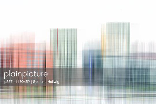 Rotterdam Cubes - p587m1190452 von Spitta + Hellwig