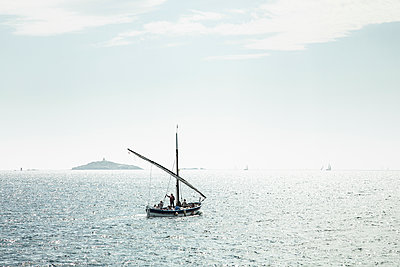 Old Sailing Boat - p1290m1112648 by Fabien Courtitarat