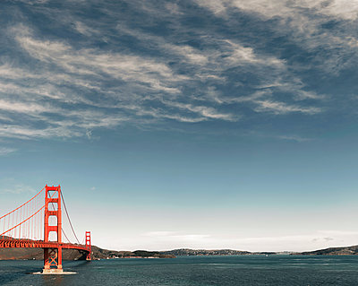 Golden Gate Bridge - p1324m1558775 by Michael Hopf