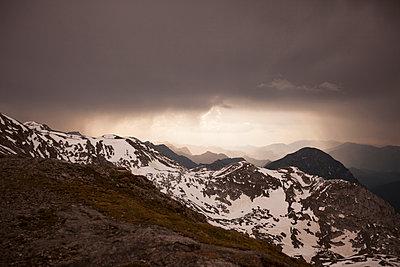 The Alps - p842m890988 by Renée Del Missier