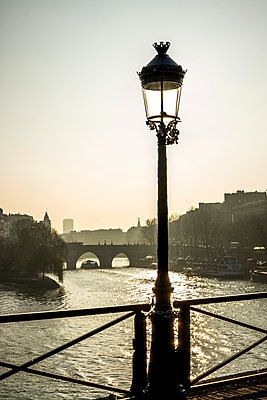 Bridge over the Seine, Paris, France - p813m1214759 by B.Jaubert