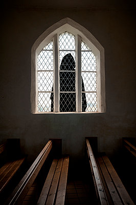 Kirche von Vitt auf Rügen - p470m2053070 von Ingrid Michel