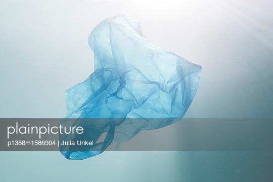 Plastiktüte oder Qualle - p1388m1586904 von Julia Unkel