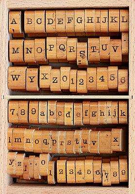 Buchstaben - p4500565 von Hanka Steidle