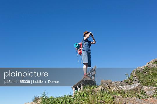 Hoch hinaus - p454m1185038 von Lubitz + Dorner