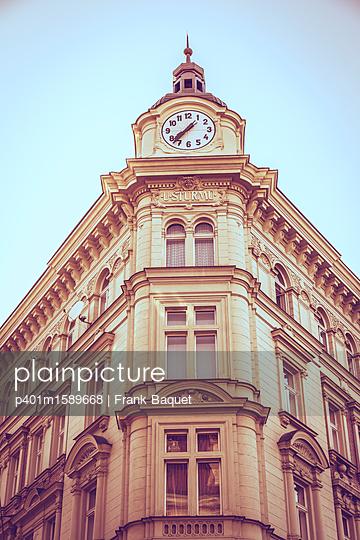 Jugendstilhaus in Prag - p401m1589668 von Frank Baquet