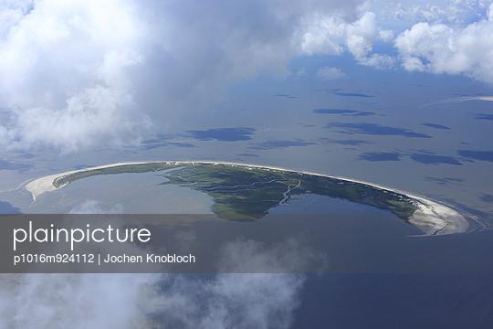 Luftaufnahme der Insel Trischen - p1016m924112 von Jochen Knobloch
