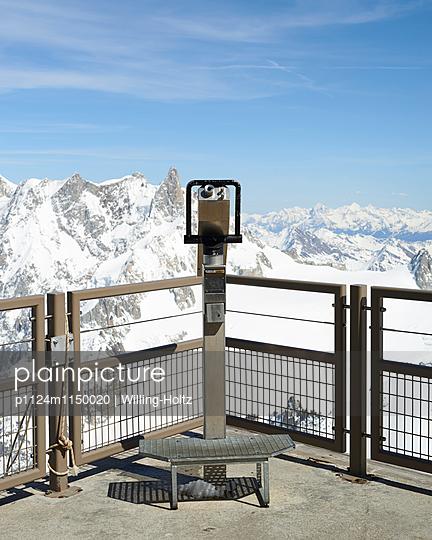 Aussichtsplattform Aiguille du Midi - p1124m1150020 von Willing-Holtz