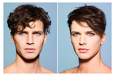 Porträtfotos Transgender - p1462m1516827 von Massimo Giovannini