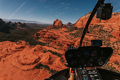 Inside Helicopter - p1507m2149494 by Emma Grann